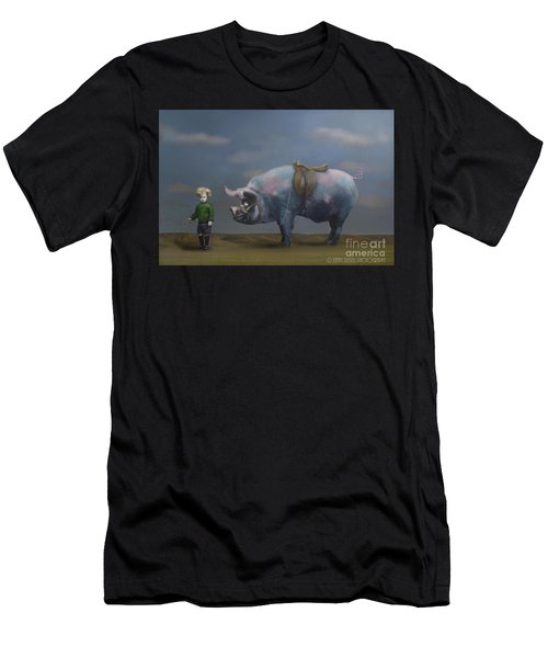 My Pony Men's T-Shirt (Athletic Fit)