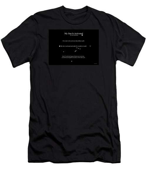My Star Is Activated Men's T-Shirt (Athletic Fit)