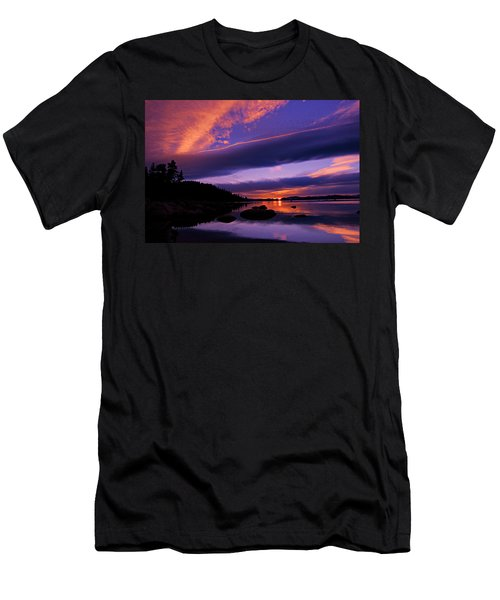 Men's T-Shirt (Athletic Fit) featuring the photograph My Tahoe by Sean Sarsfield
