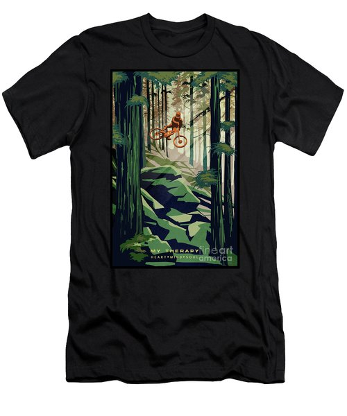 My Therapy Men's T-Shirt (Athletic Fit)