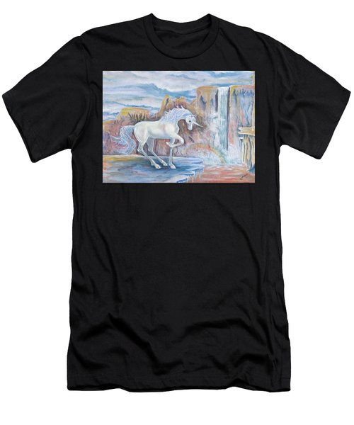My Unicorn Men's T-Shirt (Athletic Fit)
