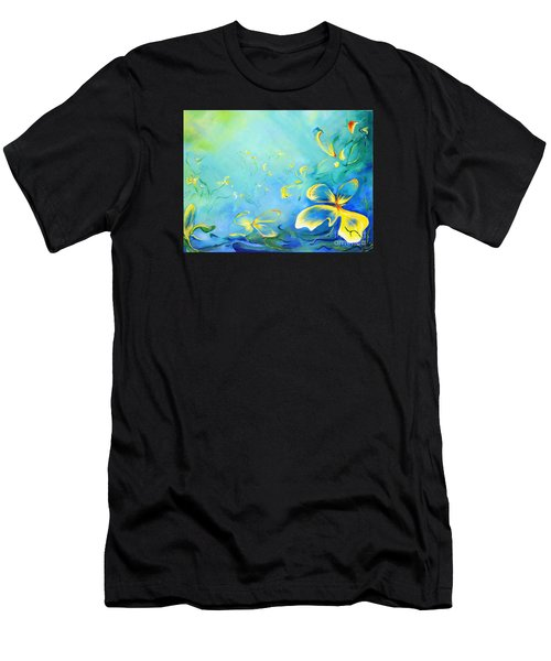 My World Men's T-Shirt (Athletic Fit)