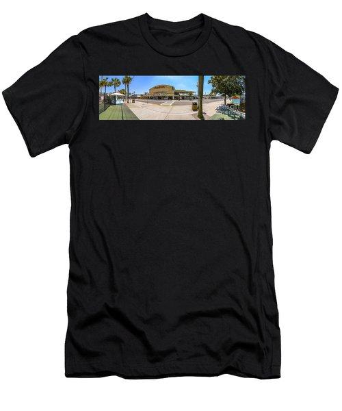 Myrtle Beach Pavilion Building Men's T-Shirt (Athletic Fit)