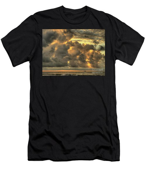 Myrtle Beach Seascape Men's T-Shirt (Athletic Fit)