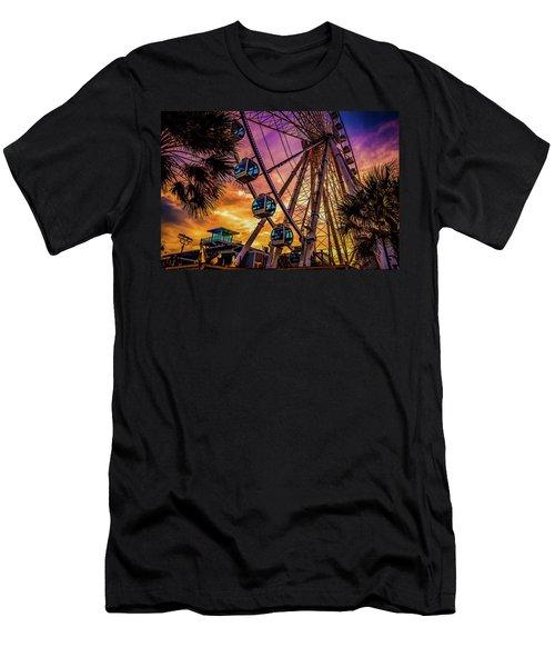 Myrtle Beach Skywheel Men's T-Shirt (Athletic Fit)