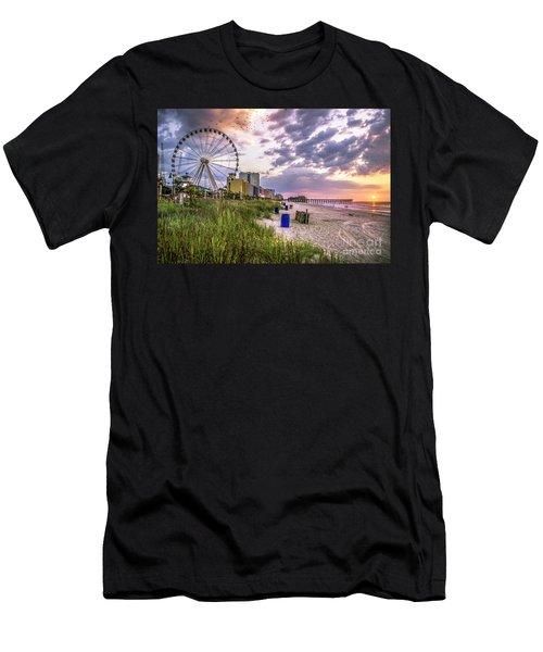 Myrtle Beach Sunrise Men's T-Shirt (Athletic Fit)