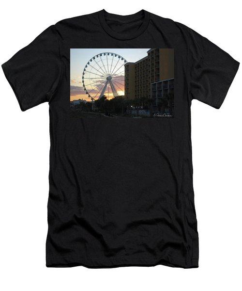 Myrtle Beach Sunset 2 Men's T-Shirt (Athletic Fit)
