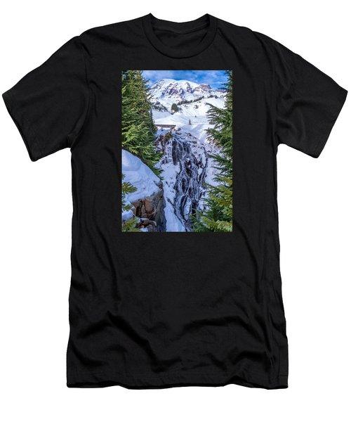 Myrtle Falls Men's T-Shirt (Athletic Fit)