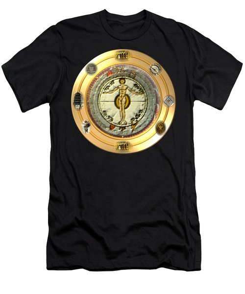 Mysteries Of The Ancient World By Pierre Blanchard Men's T-Shirt (Athletic Fit)