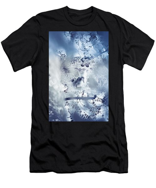 Mysterious Carnival Mask Men's T-Shirt (Athletic Fit)