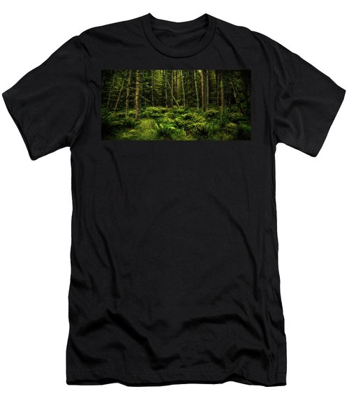 Mysterious Forest Men's T-Shirt (Athletic Fit)