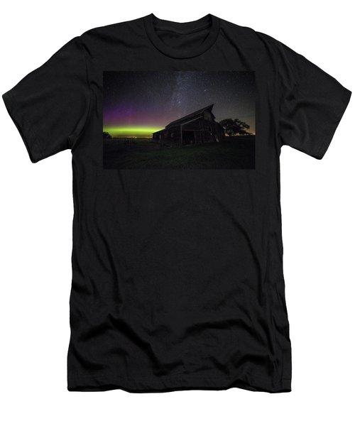 Mysterious Lights Men's T-Shirt (Athletic Fit)