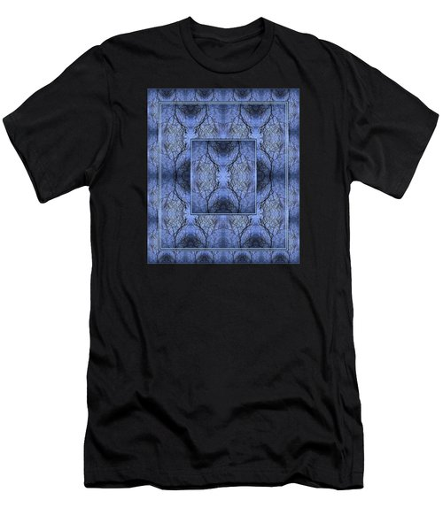 Mystery Blue Men's T-Shirt (Athletic Fit)