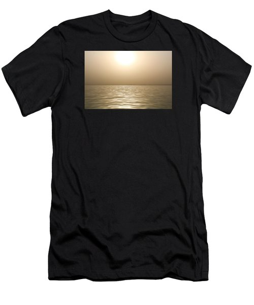Mystery Sandstorm Sunset- The Red Sea Men's T-Shirt (Athletic Fit)