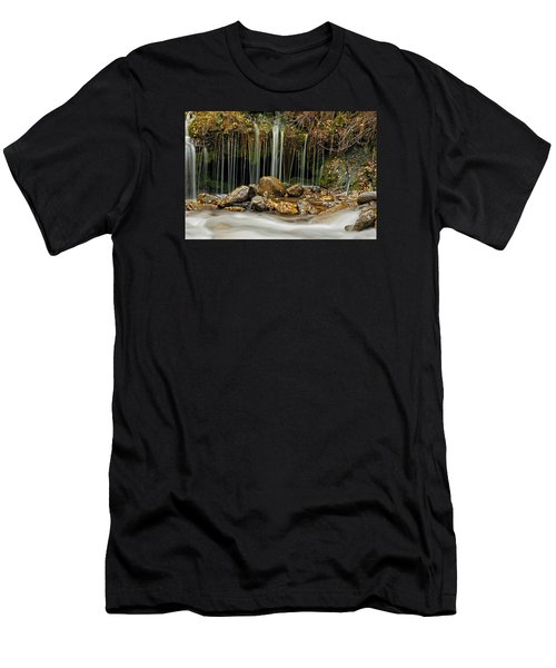 Mystery Stream Men's T-Shirt (Athletic Fit)