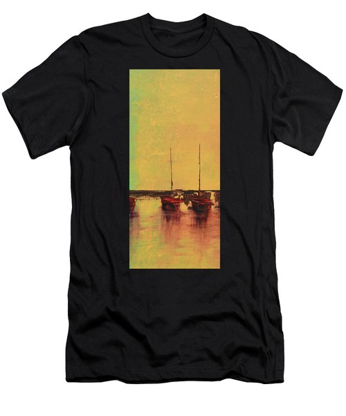 Mystic Bay Triptych 2 Of 3 Men's T-Shirt (Athletic Fit)