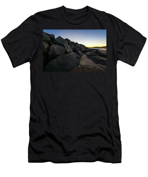 Mystic Beach Men's T-Shirt (Athletic Fit)