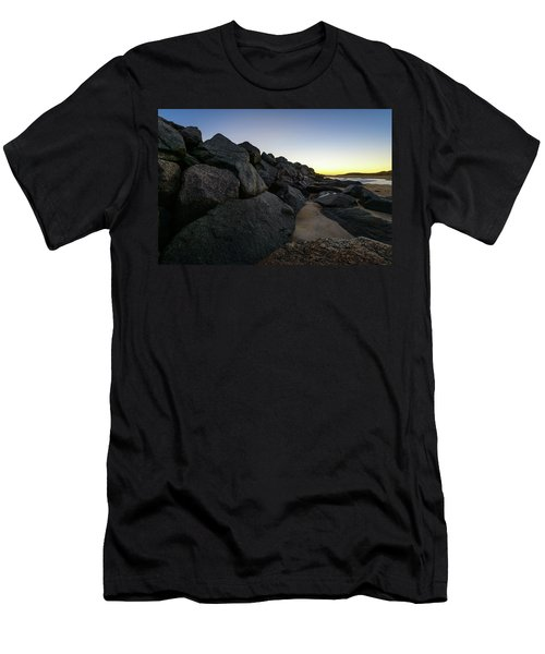 Mystic Beach Men's T-Shirt (Athletic Fit)