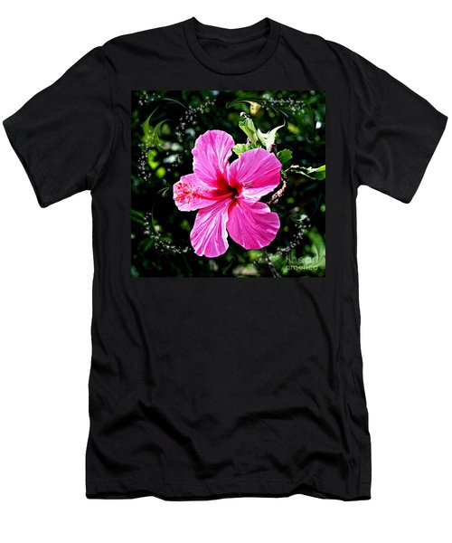 Men's T-Shirt (Slim Fit) featuring the photograph Mystical Bloom by The Art of Alice Terrill