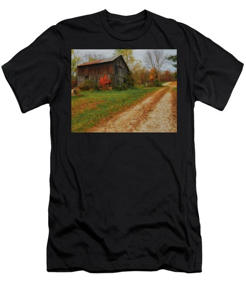 Mystical Country Lane  Men's T-Shirt (Athletic Fit)