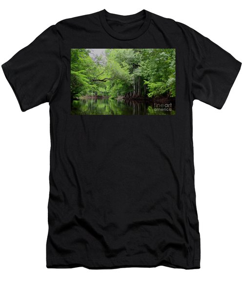 Mystical Withlacoochee River Men's T-Shirt (Athletic Fit)