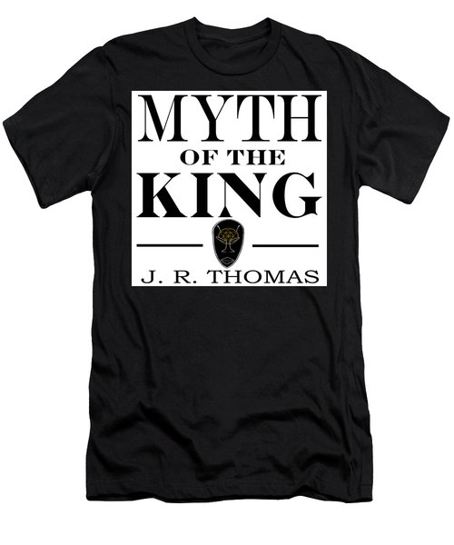 Men's T-Shirt (Athletic Fit) featuring the digital art Myth Of The King Cover by Jayvon Thomas