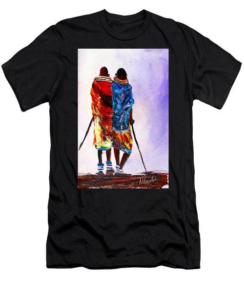 N 108 Men's T-Shirt (Athletic Fit)