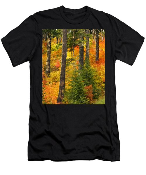 N W Autumn Men's T-Shirt (Athletic Fit)