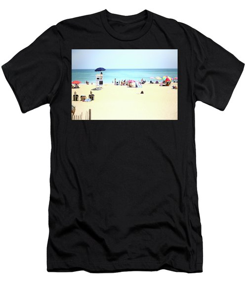 Men's T-Shirt (Athletic Fit) featuring the photograph Nags Head by Lucian Capellaro