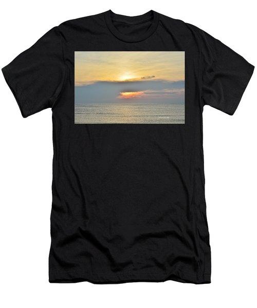 Nags Head Sunrise 7/24/16 Men's T-Shirt (Athletic Fit)