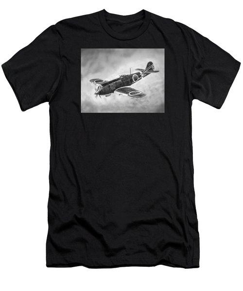 Nakajima Ki84 Men's T-Shirt (Athletic Fit)