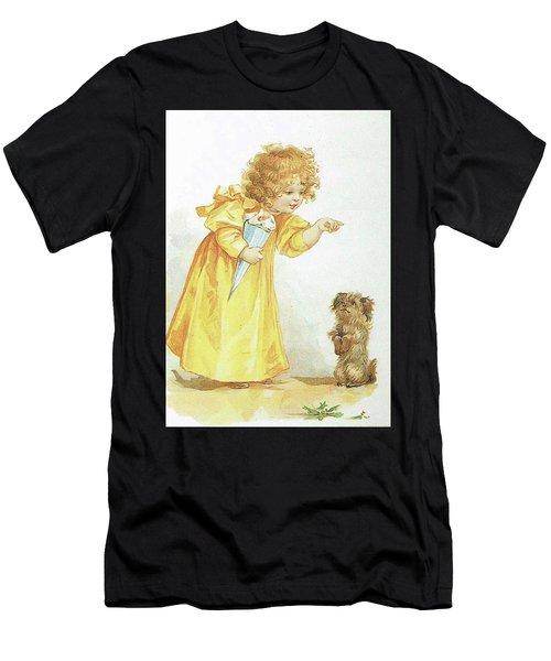 Nancy And Spot Men's T-Shirt (Athletic Fit)