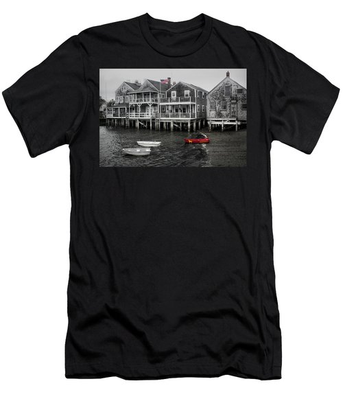 Nantucket In Bw Series 6139 Men's T-Shirt (Athletic Fit)