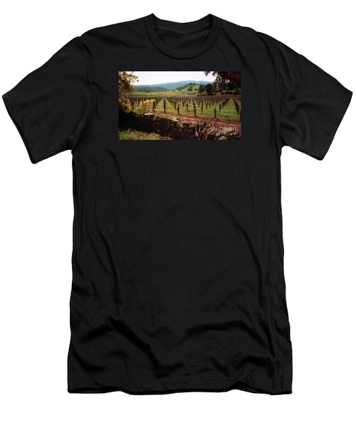 Napa Valley Hills Vineyard Men's T-Shirt (Athletic Fit)