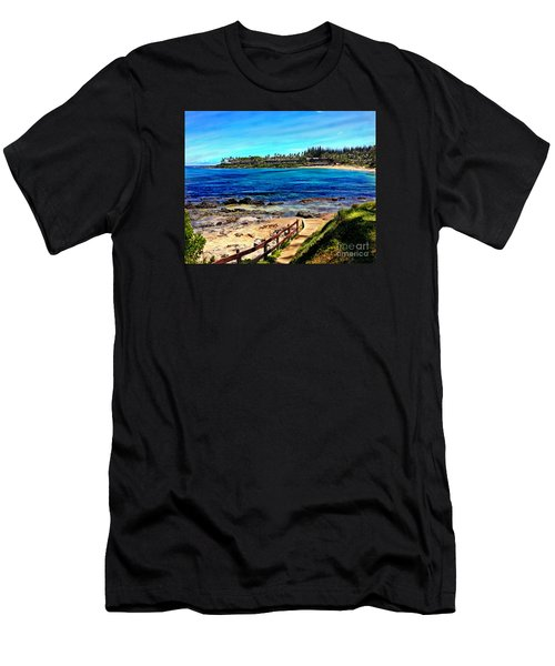 Napili Beach Gazebo Walkway Men's T-Shirt (Athletic Fit)