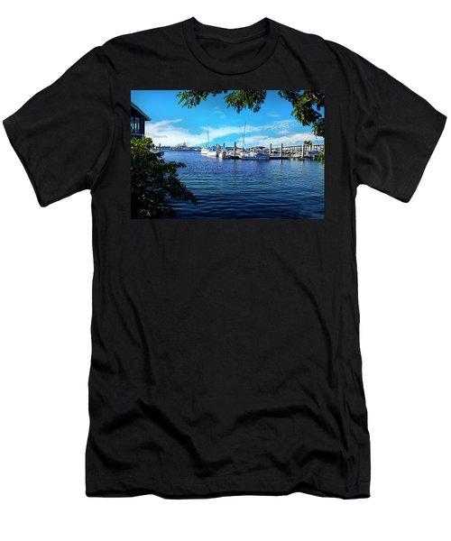 Naples Harbor Series 4054 Men's T-Shirt (Athletic Fit)