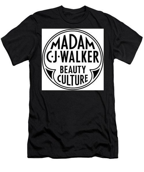 Nappy Hair C.j. Walker Men's T-Shirt (Athletic Fit)