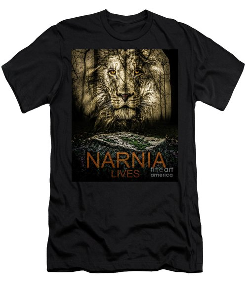 Narnia Lives Men's T-Shirt (Athletic Fit)
