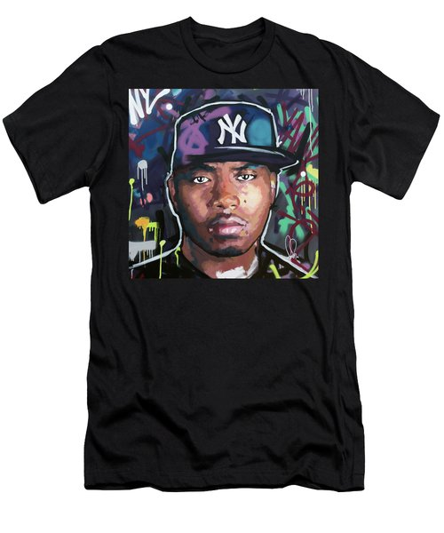 Nas Men's T-Shirt (Athletic Fit)