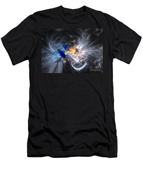 Nasa Coronal Loops Over A Sunspot Group Men's T-Shirt (Athletic Fit)