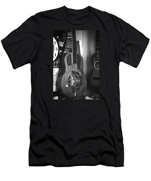 National Steel Guitar No. 24 Men's T-Shirt (Athletic Fit)