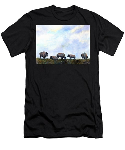 National Treasure - Bison Men's T-Shirt (Athletic Fit)