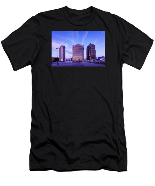 Nationwide Plaza Evening Men's T-Shirt (Athletic Fit)