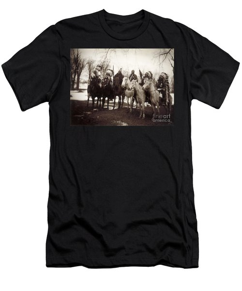 Native American Chiefs - To License For Professional Use Visit Granger.com Men's T-Shirt (Athletic Fit)