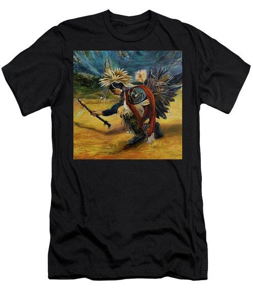 Native American Rain Dance Men's T-Shirt (Athletic Fit)