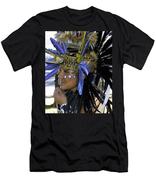 Native Blue Men's T-Shirt (Athletic Fit)