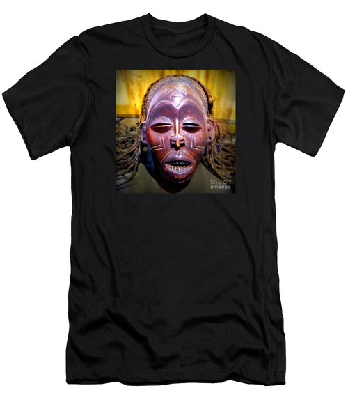 Native Mask Men's T-Shirt (Athletic Fit)