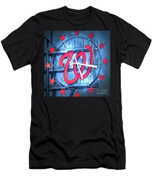 Nats Time Men's T-Shirt (Athletic Fit)