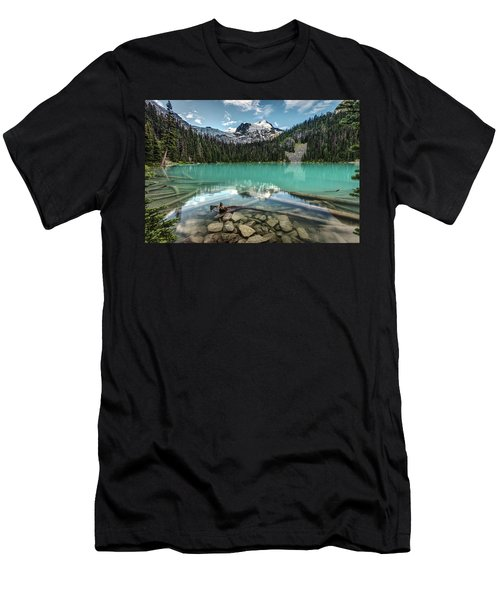 Men's T-Shirt (Athletic Fit) featuring the photograph Natural Beauty Of British Columbia by Pierre Leclerc Photography