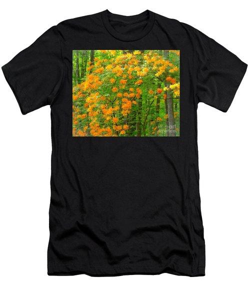 Natural Wild Azaleas  Men's T-Shirt (Athletic Fit)
